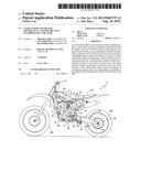 VEHICLE BODY FRAME FOR MOTORCYCLE, AND MOTORCYCLE INCORPORATING THE SAME diagram and image