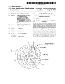 BRAKE DISC HAVING REDUCED NOISE diagram and image