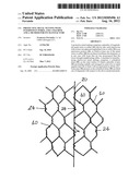 PROTECTIVE METAL NETTING WITH INTERWOVEN WIRES, AND A MACHINE AND A METHOD     FOR ITS MANUFACTURE diagram and image