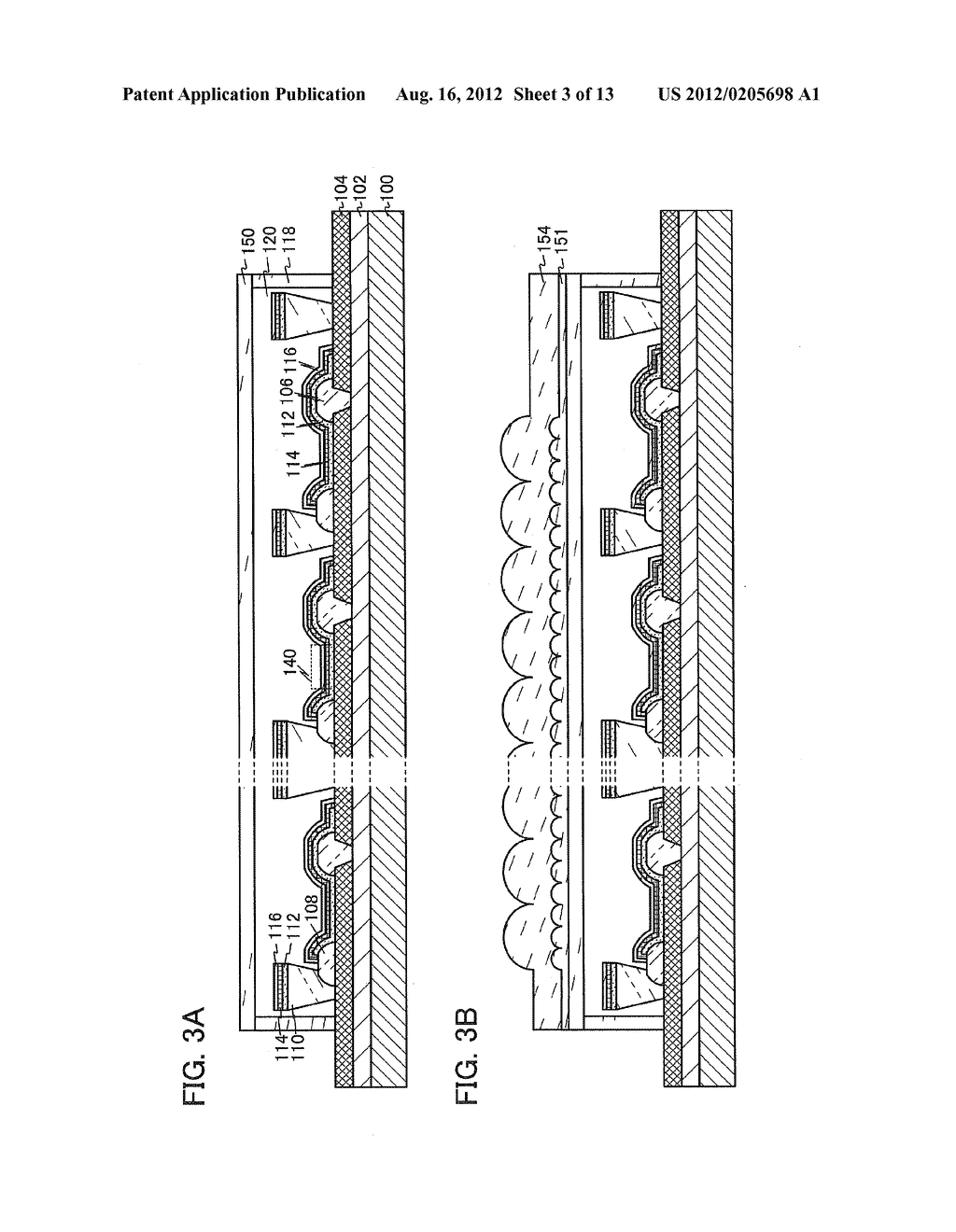 LIGHT-EMITTING DEVICE, DISPLAY DEVICE, AND METHOD FOR MANUFACTURING THE     SAME - diagram, schematic, and image 04