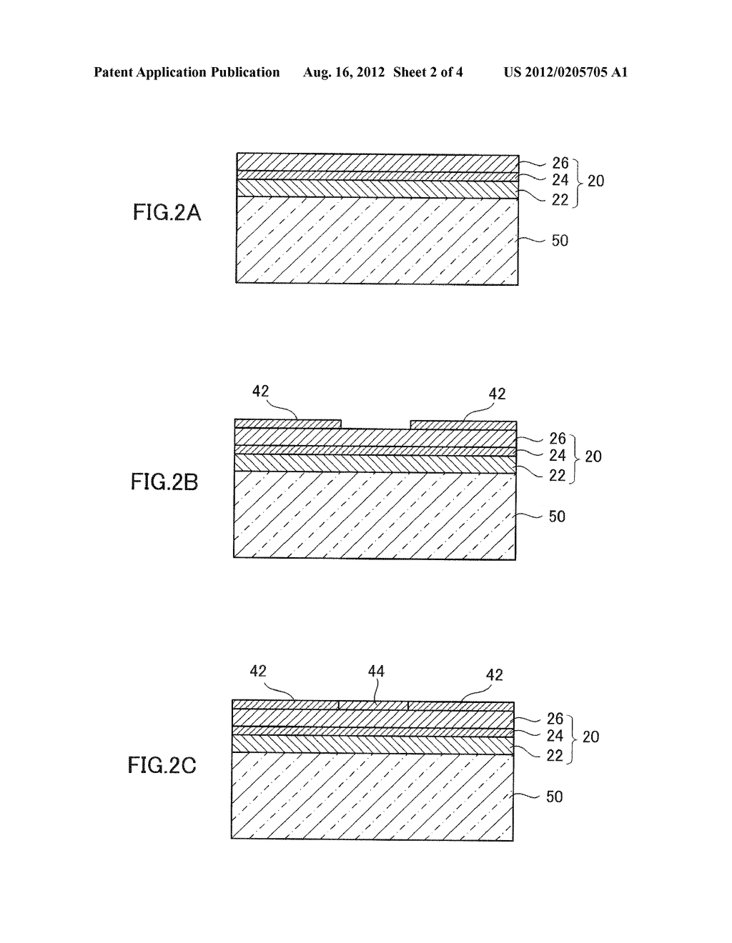 SEMICONDUCTOR LIGHT EMITTING DEVICE AND METHOD FOR MANUFACTURING THE SAME - diagram, schematic, and image 03