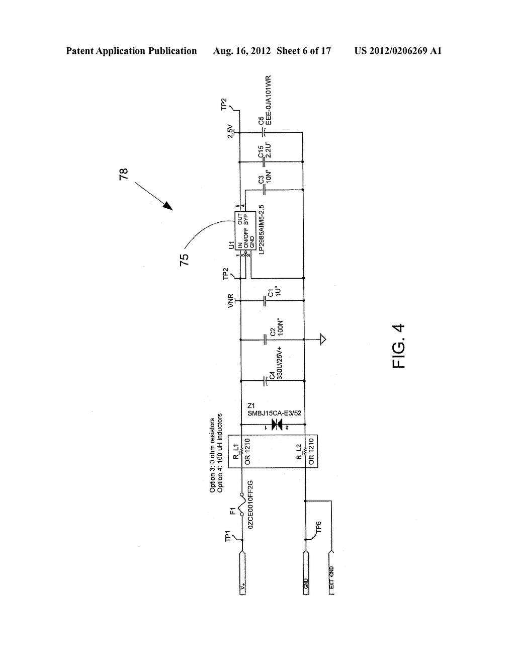 Electronic System to Signal Proximity of an Object - diagram, schematic, and image 07