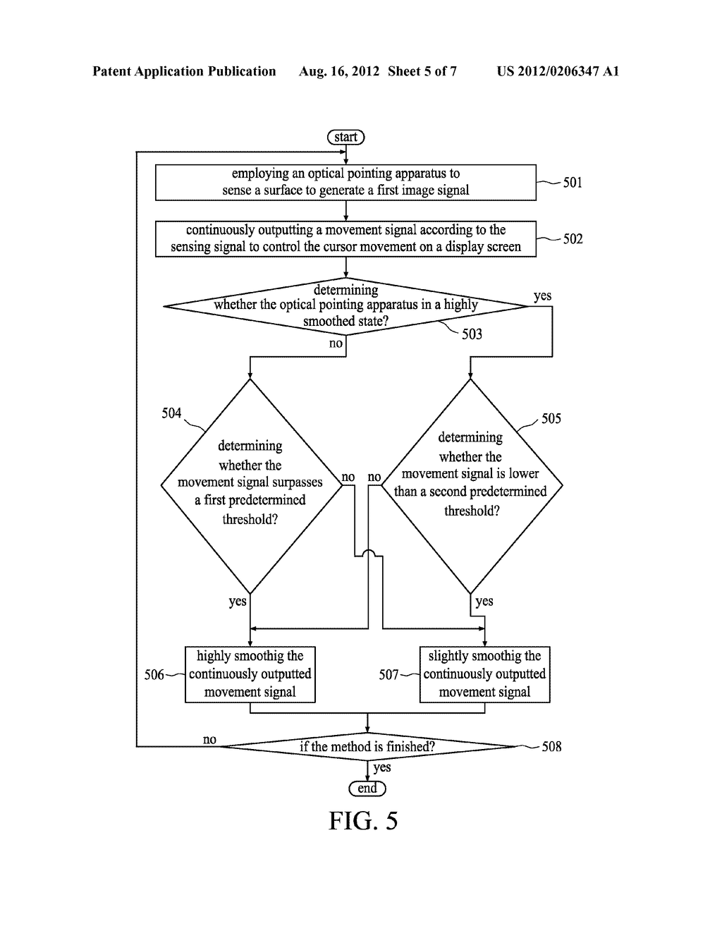 IMAGE-CAPTURING DEVICE FOR OPTICAL POINTING APPARATUS AND METHOD THEREOF - diagram, schematic, and image 06