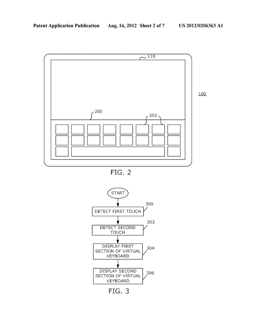 PORTABLE ELECTRONIC DEVICE AND METHOD OF CONTROLLING SAME - diagram, schematic, and image 03