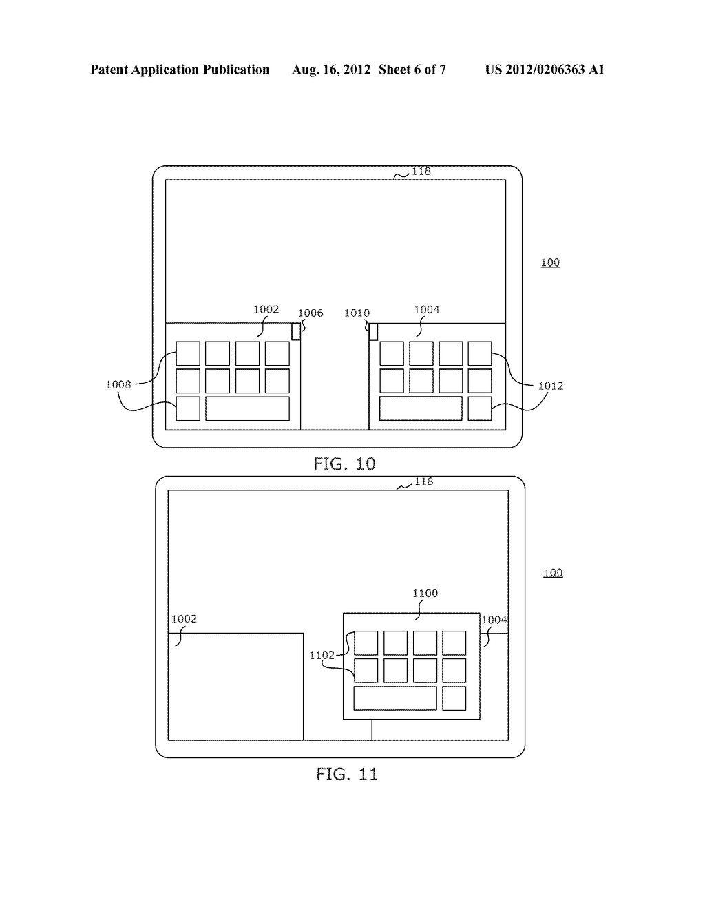 PORTABLE ELECTRONIC DEVICE AND METHOD OF CONTROLLING SAME - diagram, schematic, and image 07