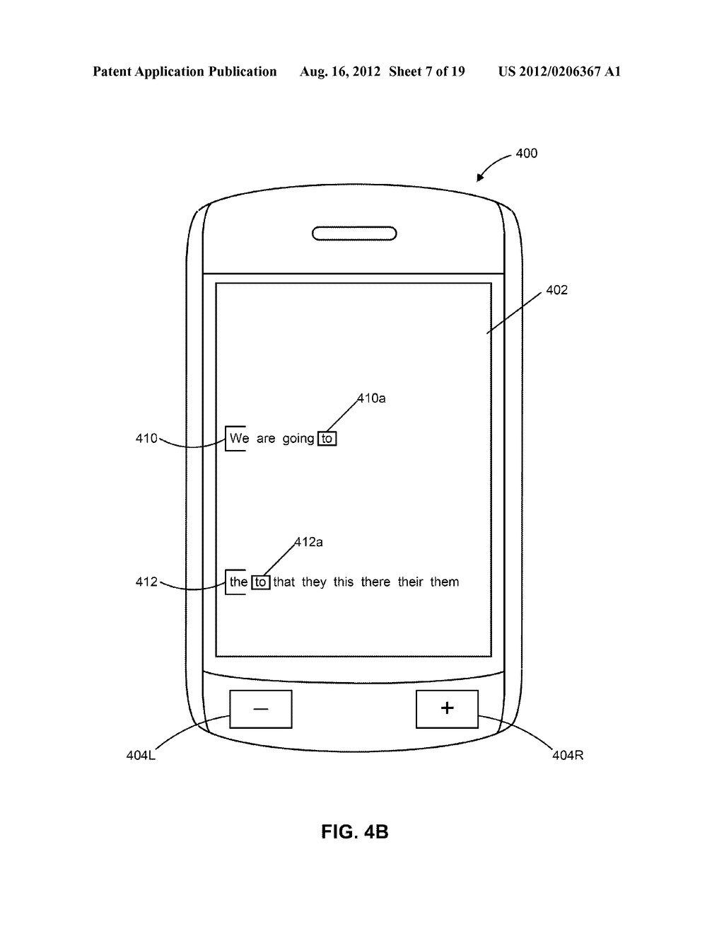 HANDHELD ELECTRONIC DEVICES WITH ALTERNATIVE METHODS FOR TEXT INPUT - diagram, schematic, and image 08