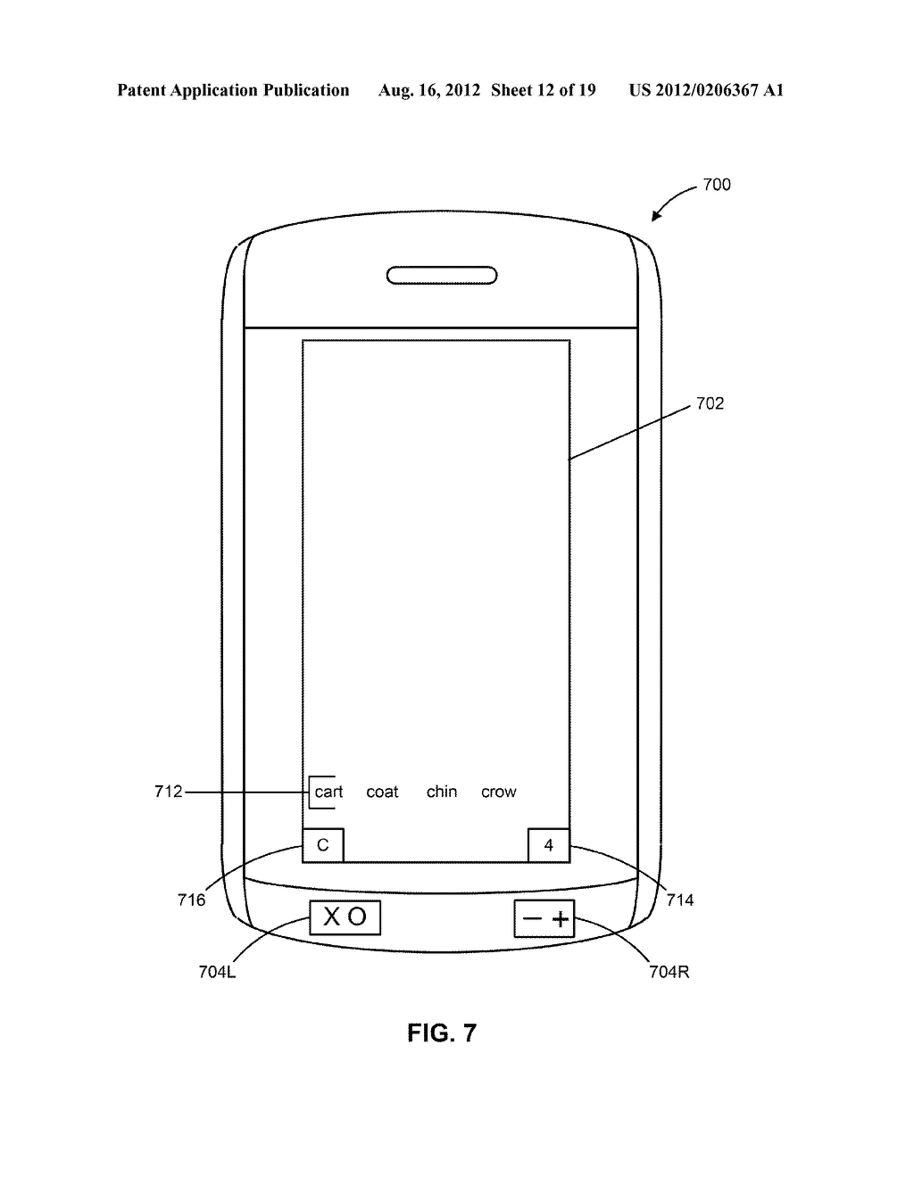 HANDHELD ELECTRONIC DEVICES WITH ALTERNATIVE METHODS FOR TEXT INPUT - diagram, schematic, and image 13