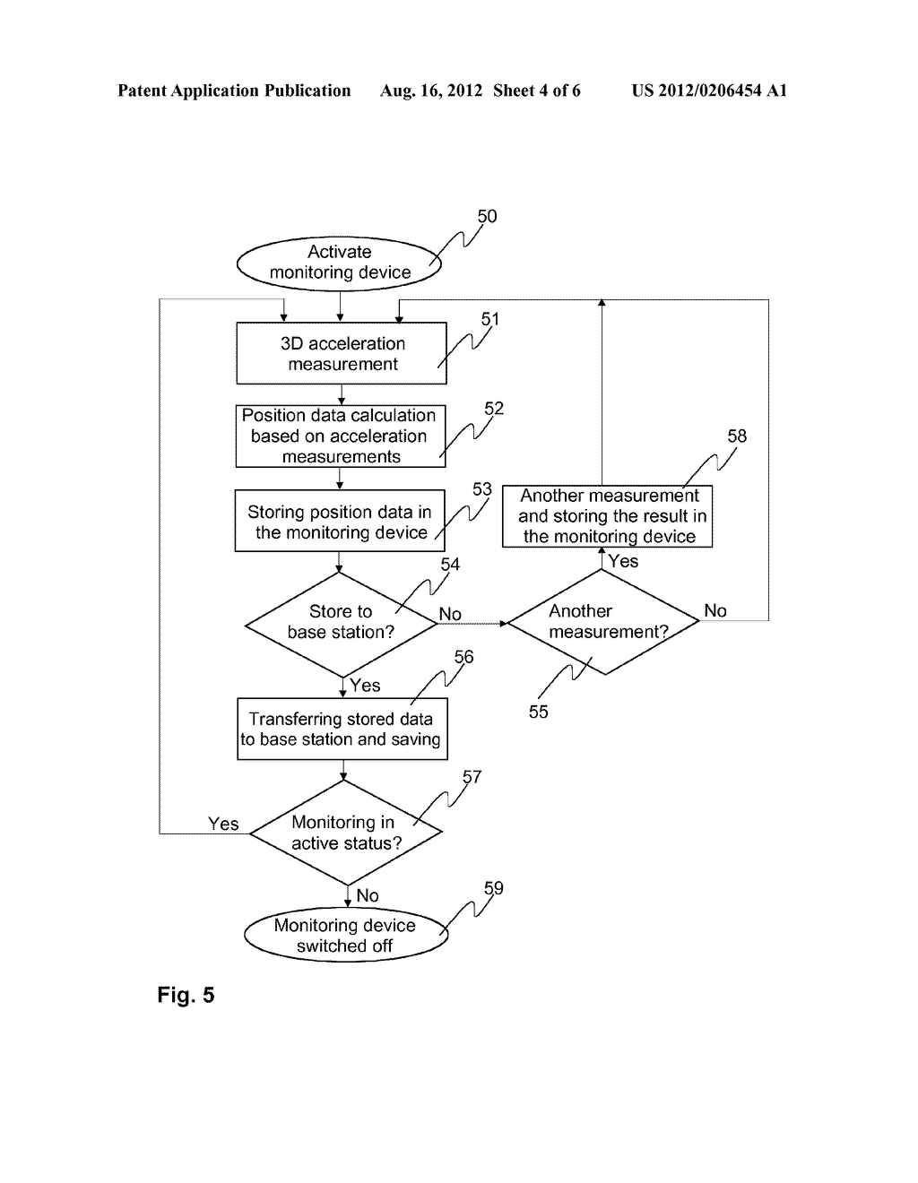 Method and Arrangement for Monitoring the Path of an Animal or a Human in     the Home - diagram, schematic, and image 05