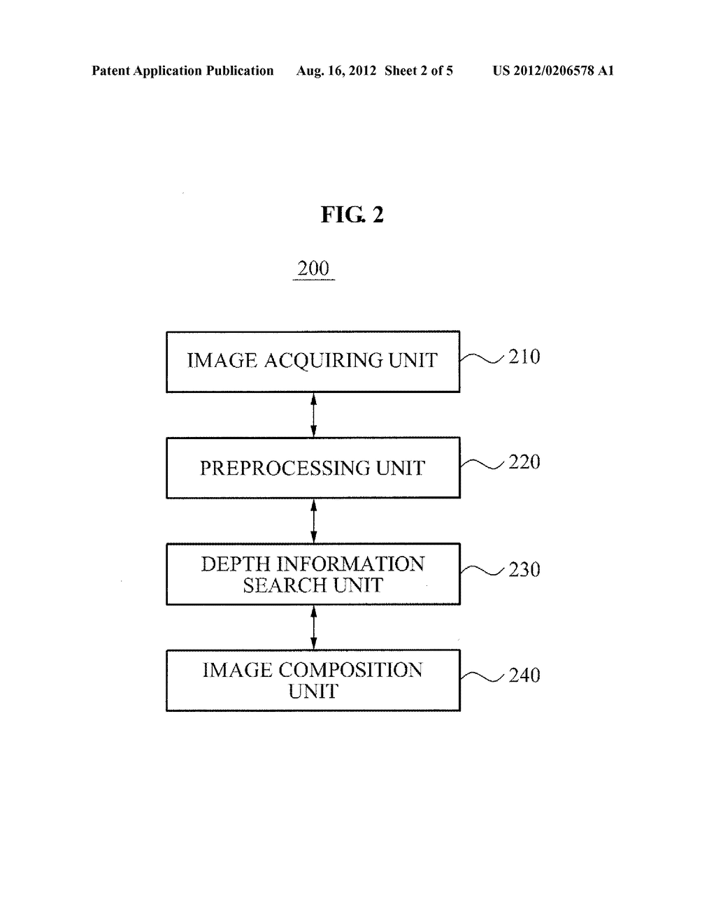 APPARATUS AND METHOD FOR EYE CONTACT USING COMPOSITION OF FRONT VIEW IMAGE - diagram, schematic, and image 03