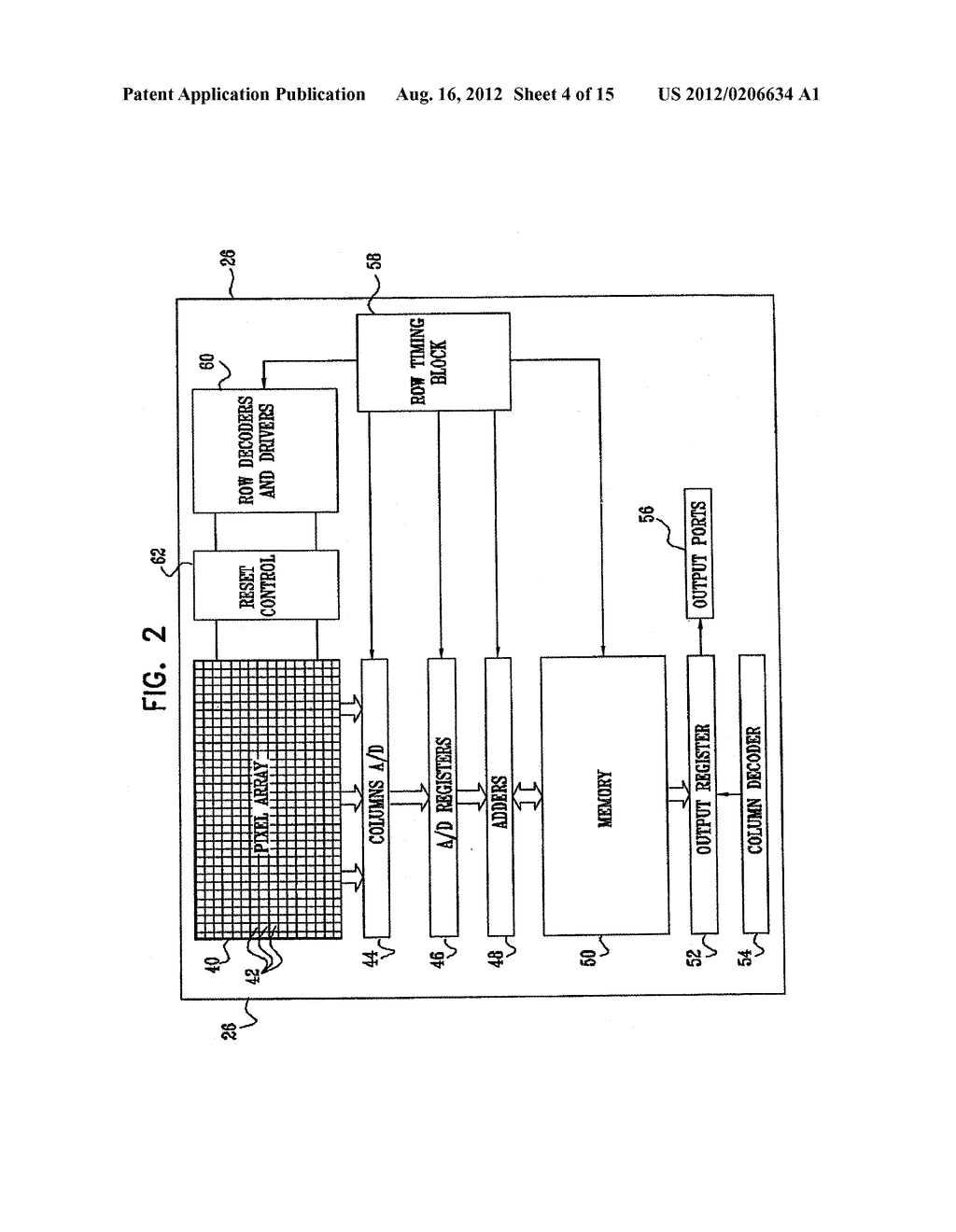 IMAGING DEVICE AND METHOD FOR HIGH-SENSITIVITY OPTICAL SCANNING AND     INTEGRATED CIRCUIT THEREFOR - diagram, schematic, and image 05