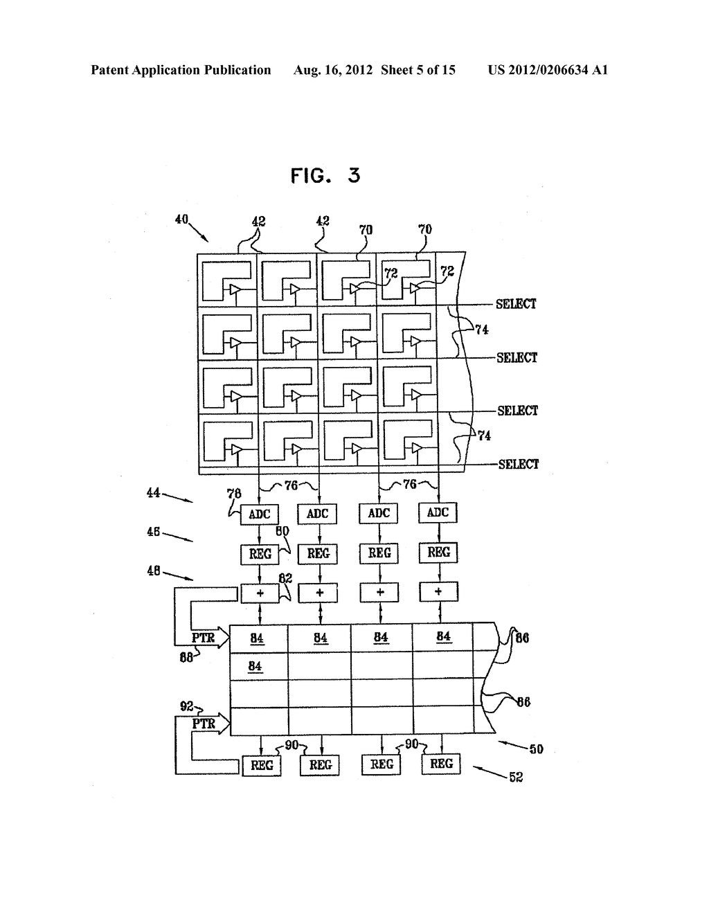 IMAGING DEVICE AND METHOD FOR HIGH-SENSITIVITY OPTICAL SCANNING AND     INTEGRATED CIRCUIT THEREFOR - diagram, schematic, and image 06