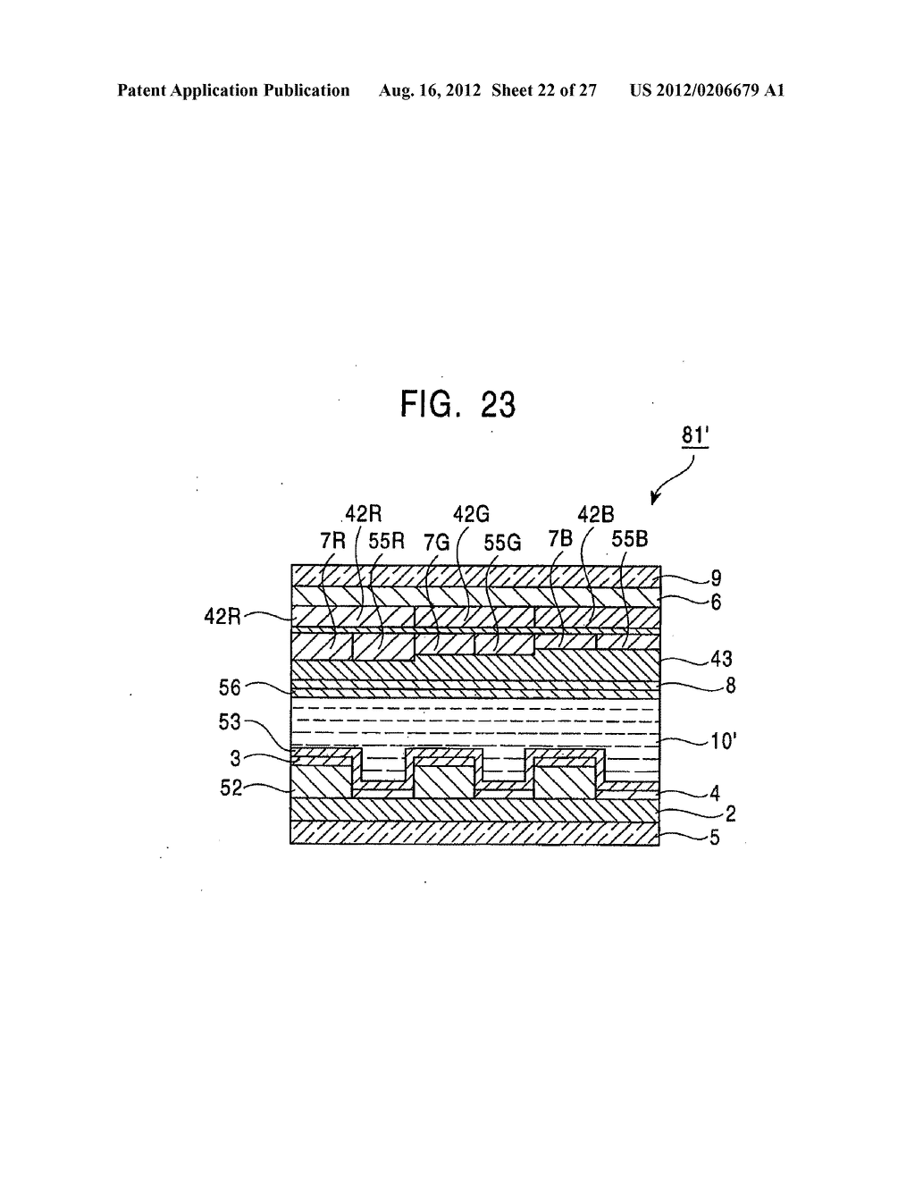 LIQUID CRYSTAL DISPLAY AND METHOD FOR MANUFACTURING THE SAME RELATED     APPLICATION DATA - diagram, schematic, and image 23