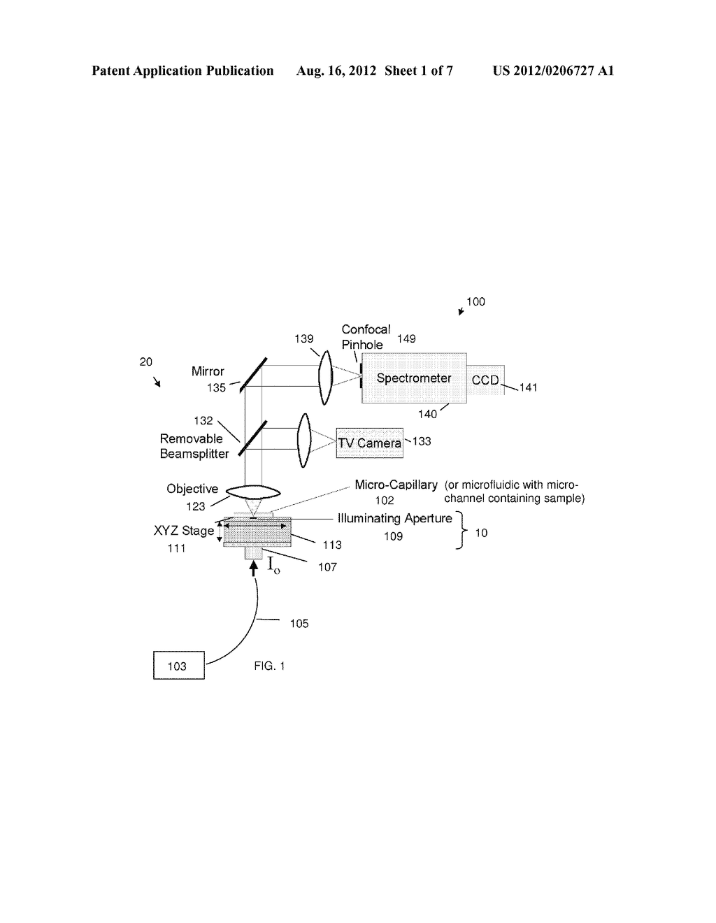 OPTICAL ABSORBANCE MEASUREMENT APPARATUS, METHOD, AND APPLICATIONS - diagram, schematic, and image 02