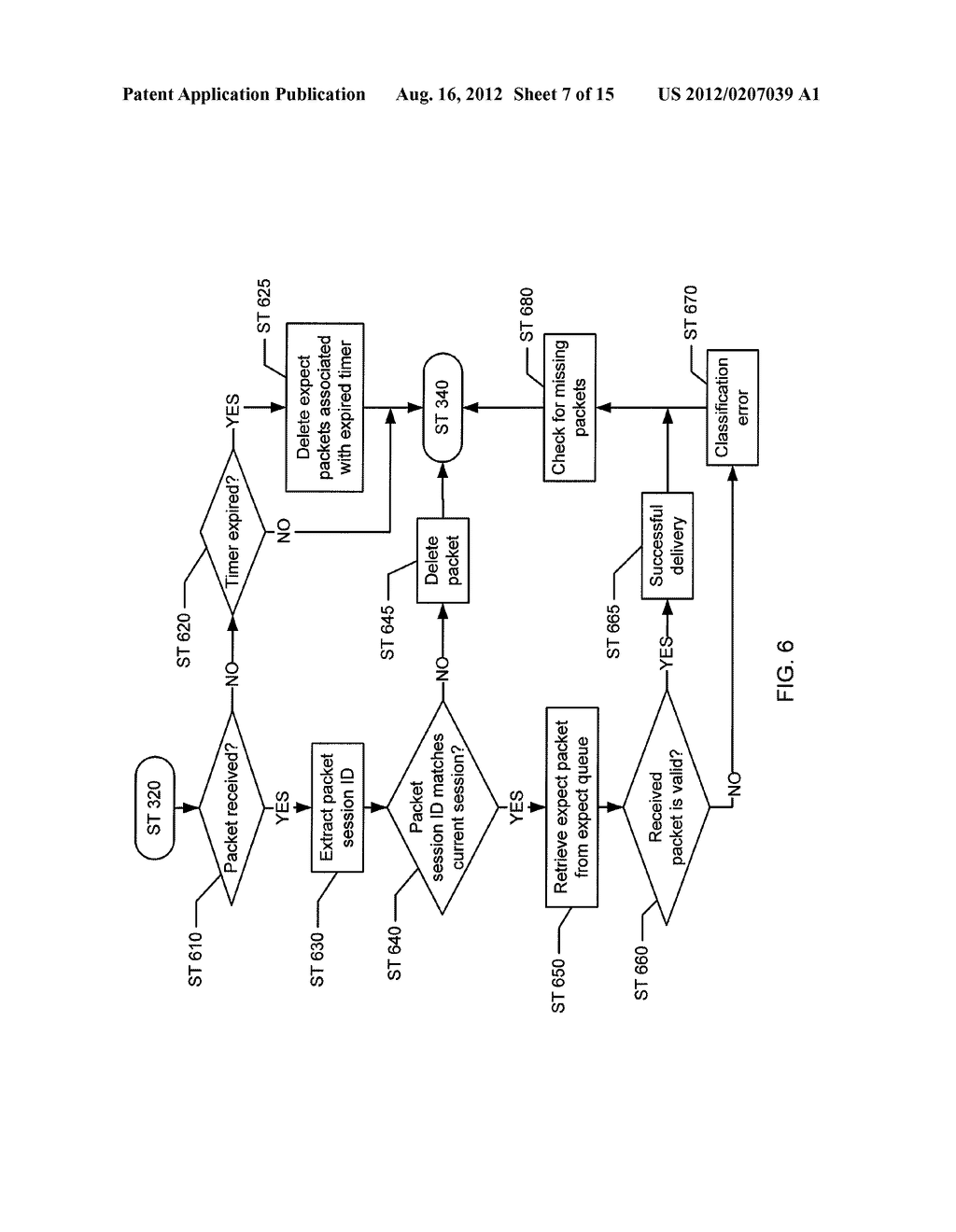 METHOD AND SYSTEM FOR VALIDATING NETWORK TRAFFIC CLASSIFICATION IN A BLADE     SERVER - diagram, schematic, and image 08