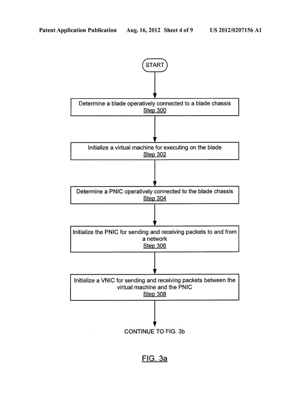 METHOD AND SYSTEM FOR ROUTING NETWORK TRAFFIC FOR A BLADE SERVER - diagram, schematic, and image 05