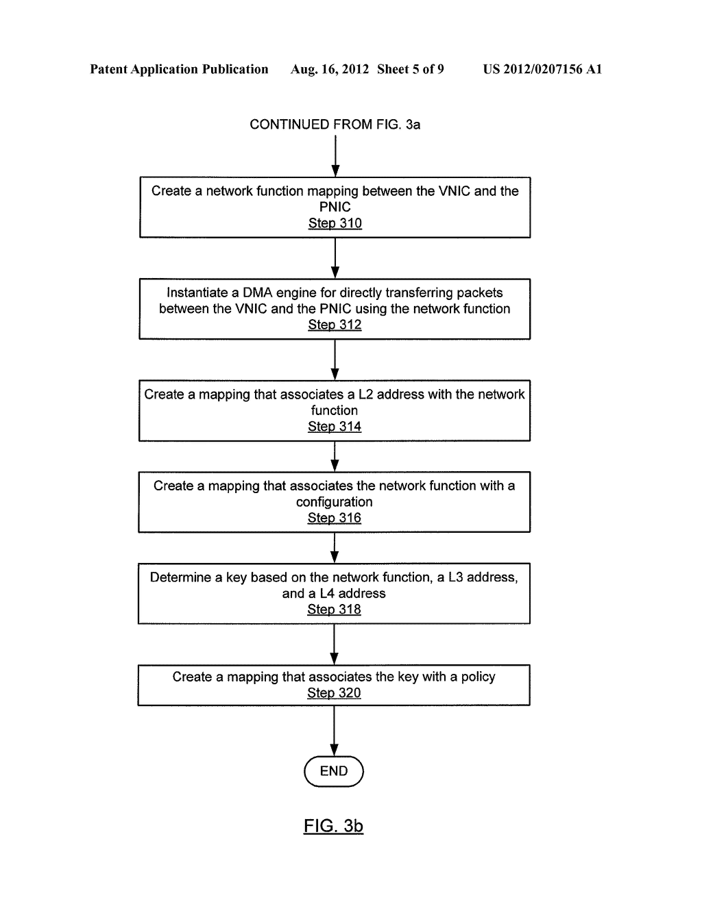 METHOD AND SYSTEM FOR ROUTING NETWORK TRAFFIC FOR A BLADE SERVER - diagram, schematic, and image 06