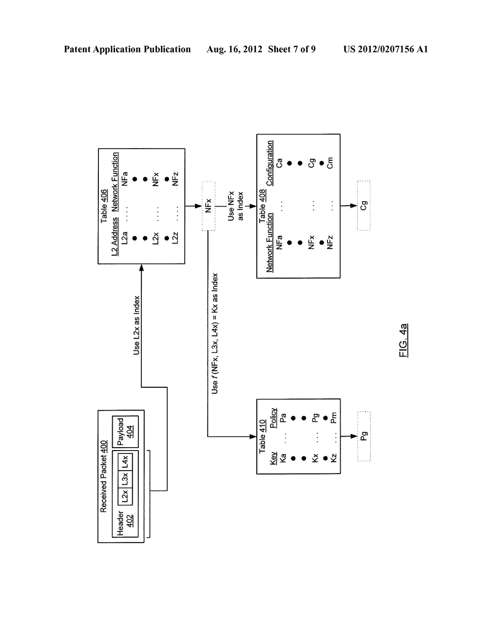METHOD AND SYSTEM FOR ROUTING NETWORK TRAFFIC FOR A BLADE SERVER - diagram, schematic, and image 08