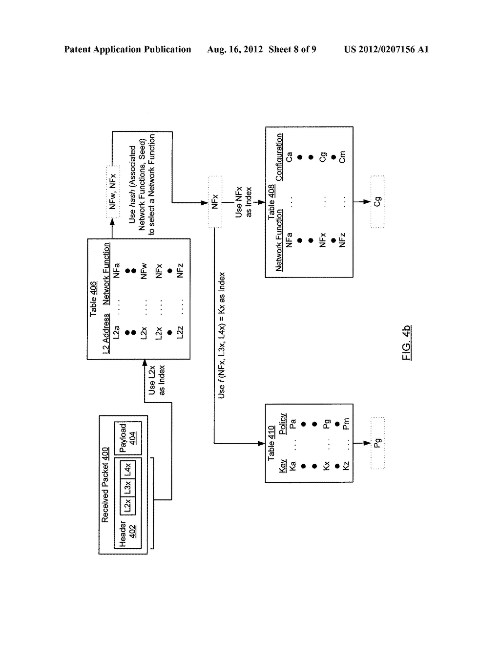 METHOD AND SYSTEM FOR ROUTING NETWORK TRAFFIC FOR A BLADE SERVER - diagram, schematic, and image 09