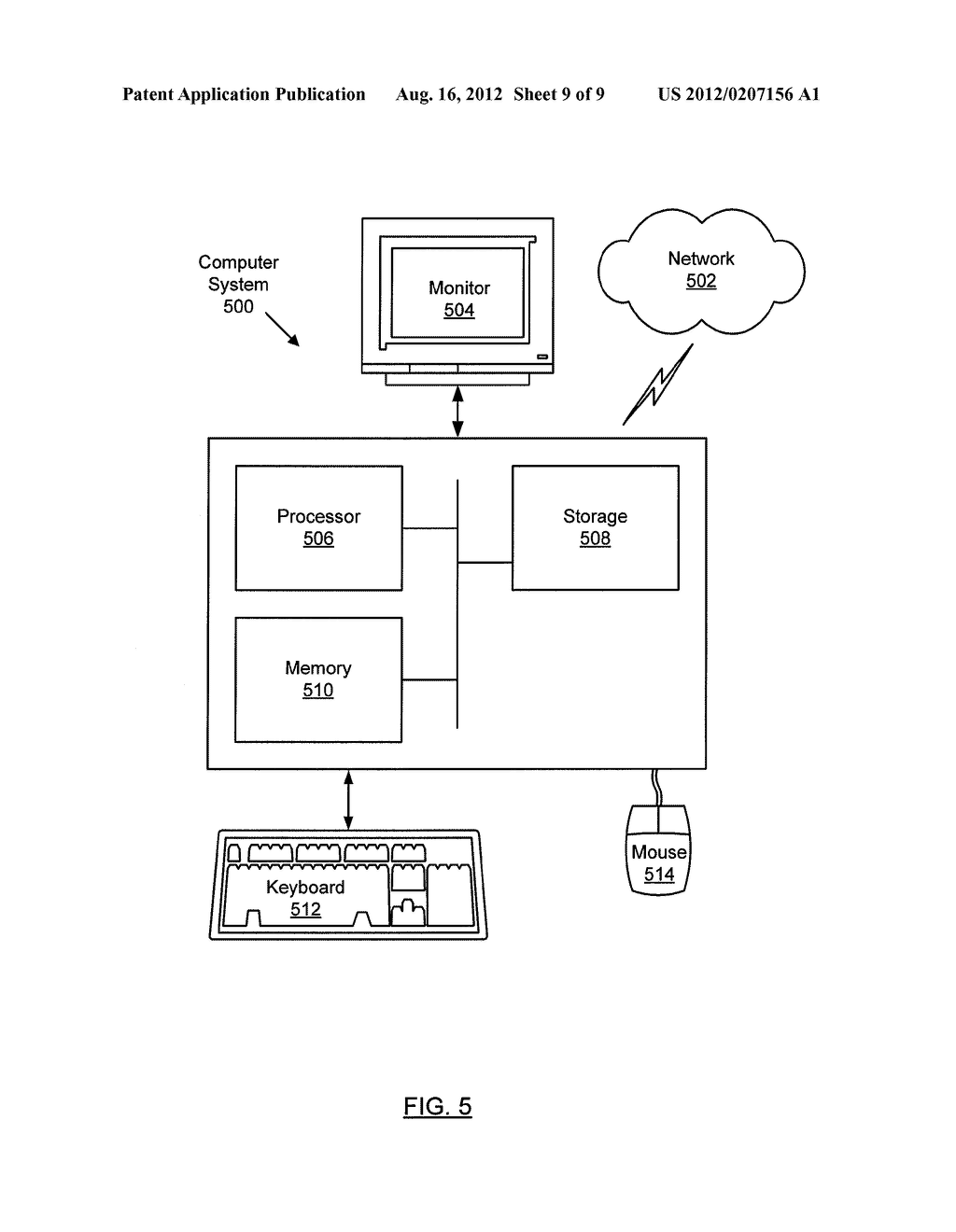 METHOD AND SYSTEM FOR ROUTING NETWORK TRAFFIC FOR A BLADE SERVER - diagram, schematic, and image 10