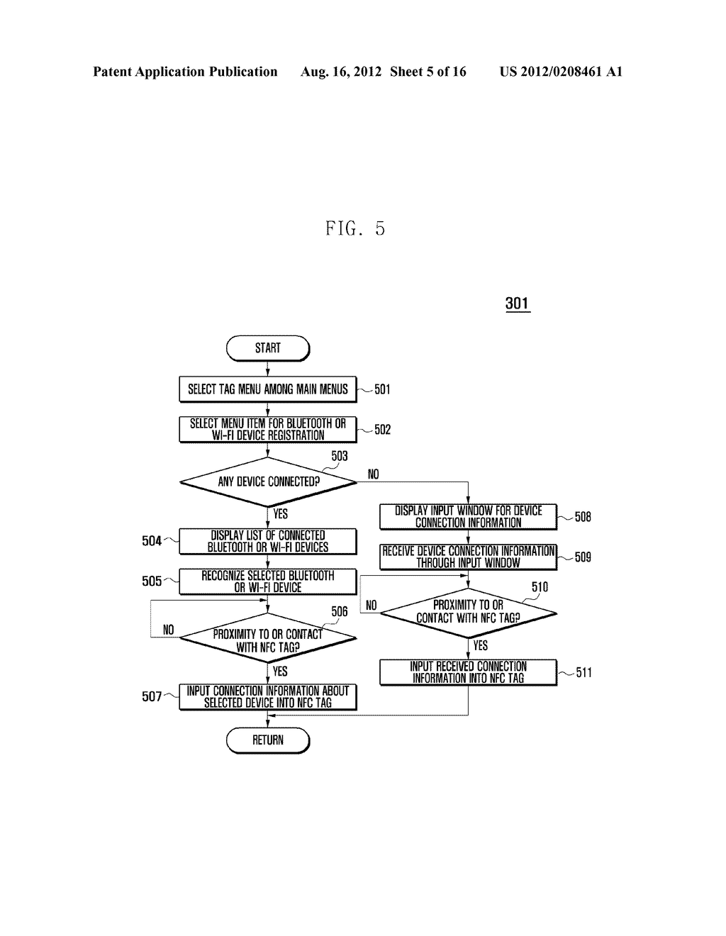 MOBILE DEVICE AND METHOD FOR PERFORMING FUNCTION BASED ON SHORT-RANGE     COMMUNICATION - diagram, schematic, and image 06