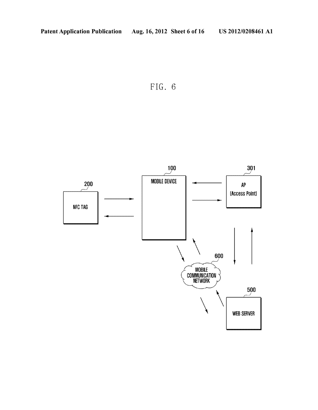 MOBILE DEVICE AND METHOD FOR PERFORMING FUNCTION BASED ON SHORT-RANGE     COMMUNICATION - diagram, schematic, and image 07
