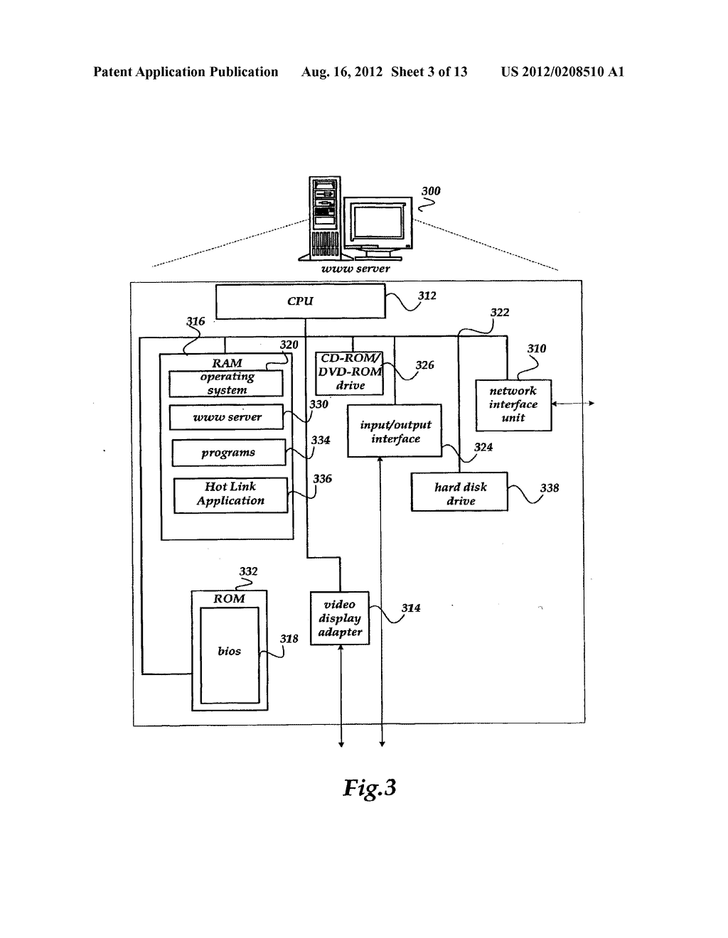 METHOD AND SYSTEMS FOR GENERATING AND SENDING A HOT LINK ASSOCIATED WITH A     USER INTERFACE TO A DEVICE - diagram, schematic, and image 04