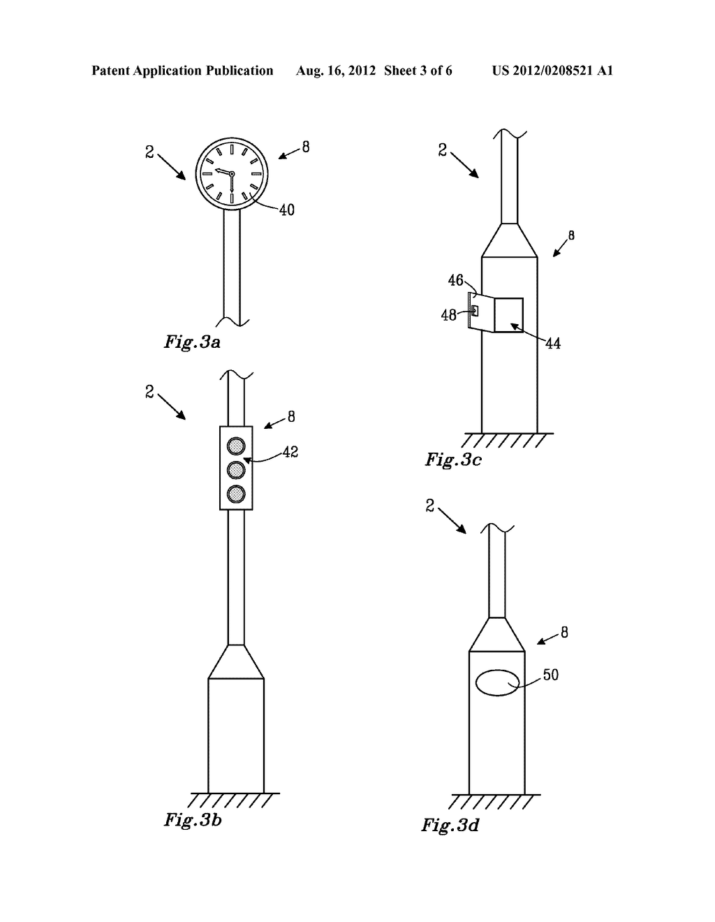 Antenna Mast and a Method of Providing a Further Function in an Antenna     Mast - diagram, schematic, and image 04