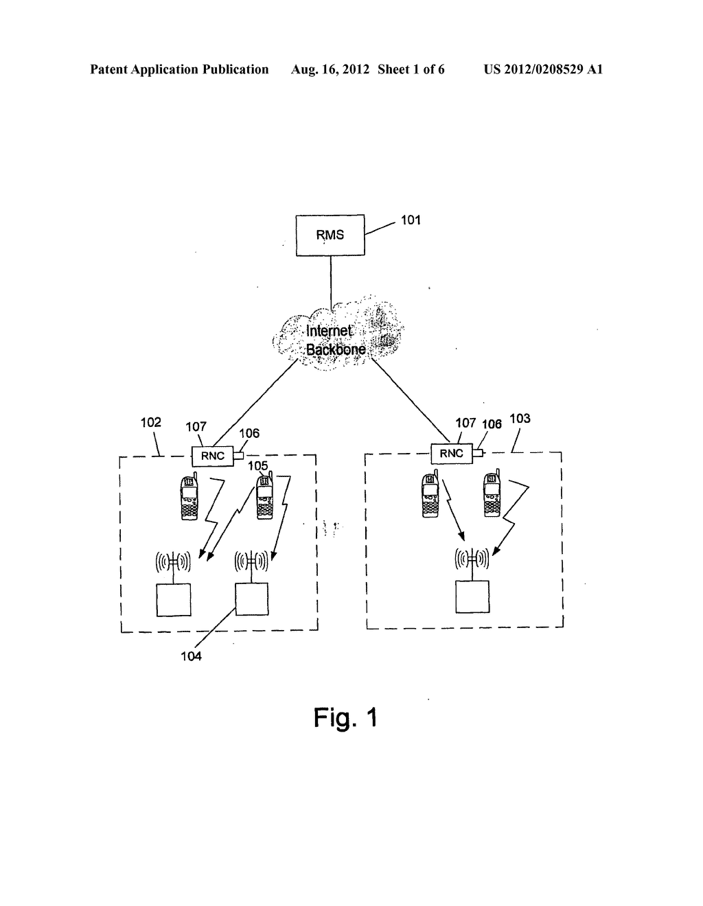SYSTEM AND METHOD OF ONLINE RADIATION MANAGEMENT AND CONTROL OF     NON-IONIZING RADIATION SOURCES - diagram, schematic, and image 02