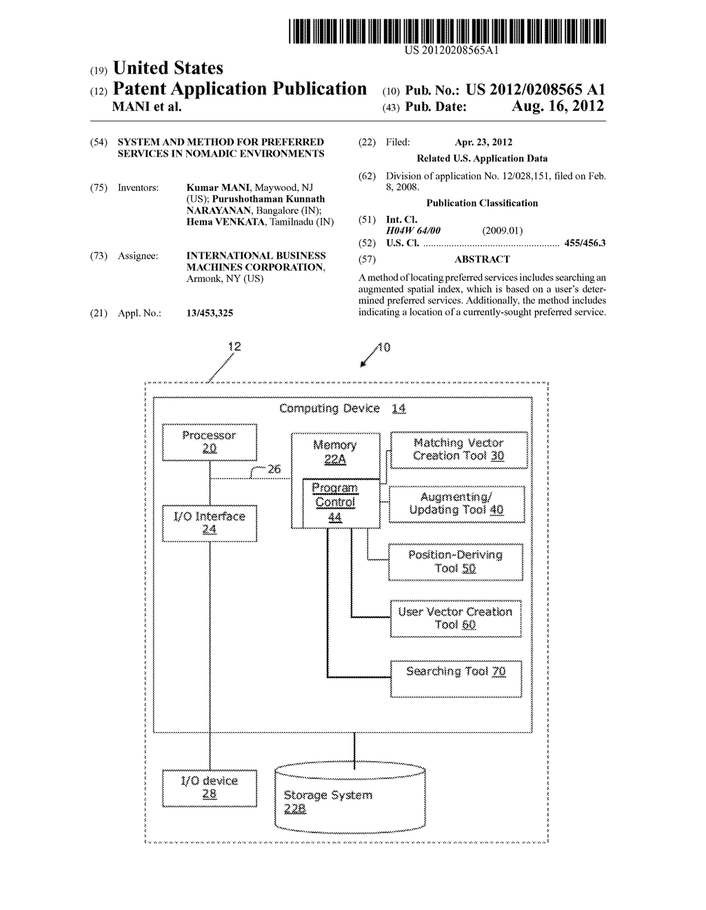 SYSTEM AND METHOD FOR PREFERRED SERVICES IN NOMADIC ENVIRONMENTS - diagram, schematic, and image 01