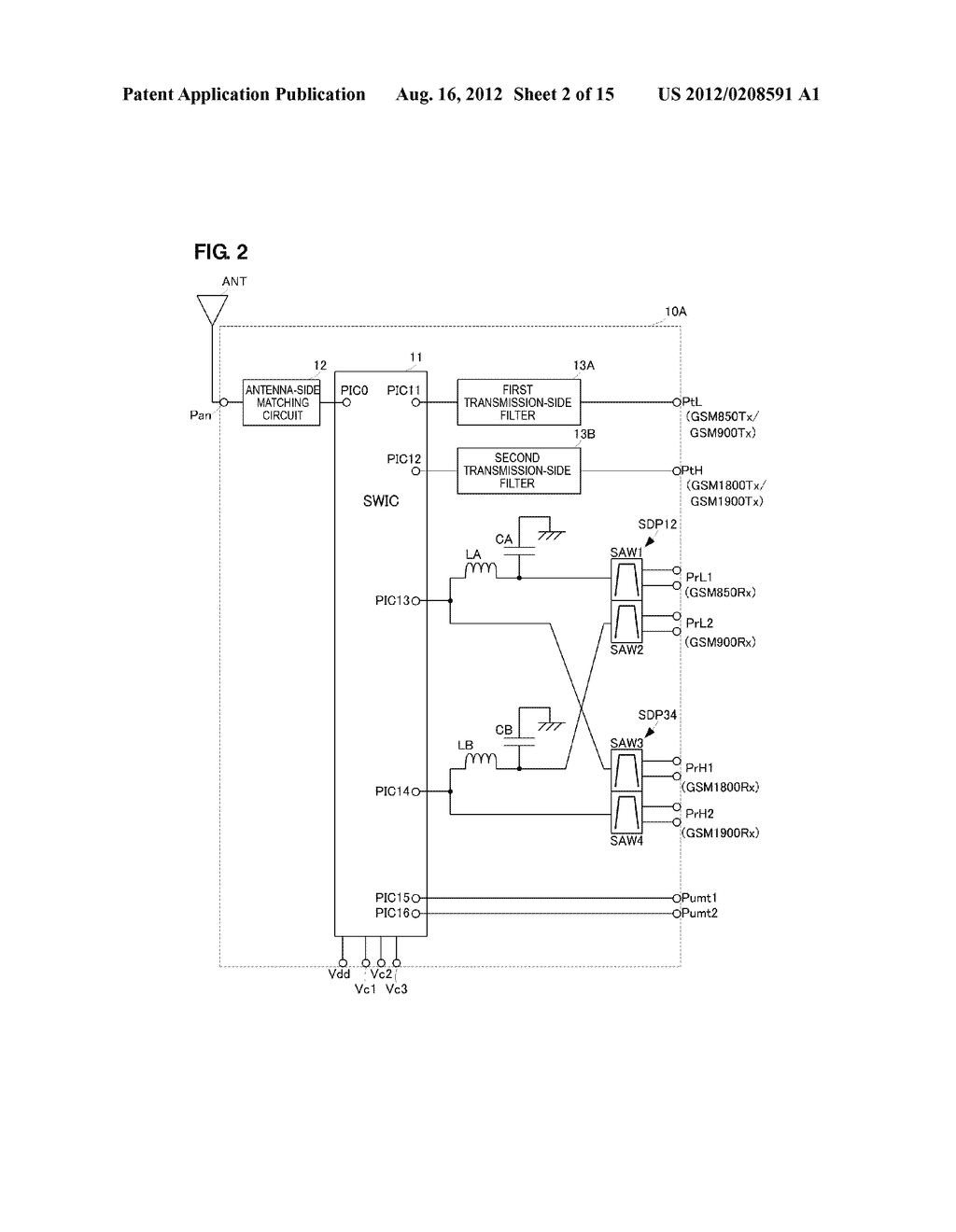 HIGH-FREQUENCY MODULE - diagram, schematic, and image 03