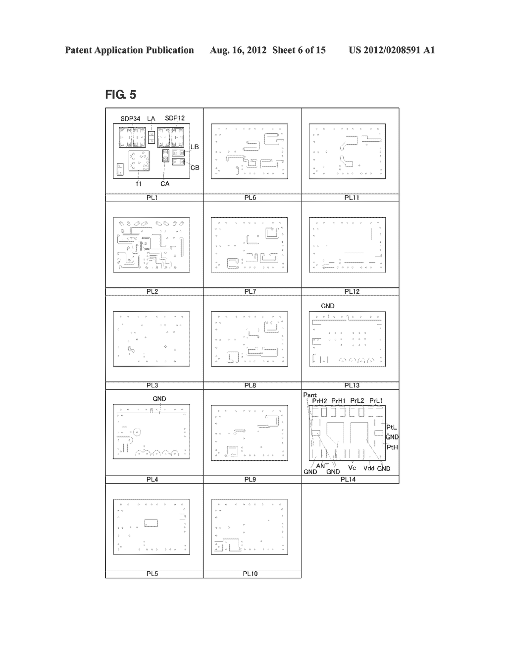 HIGH-FREQUENCY MODULE - diagram, schematic, and image 07