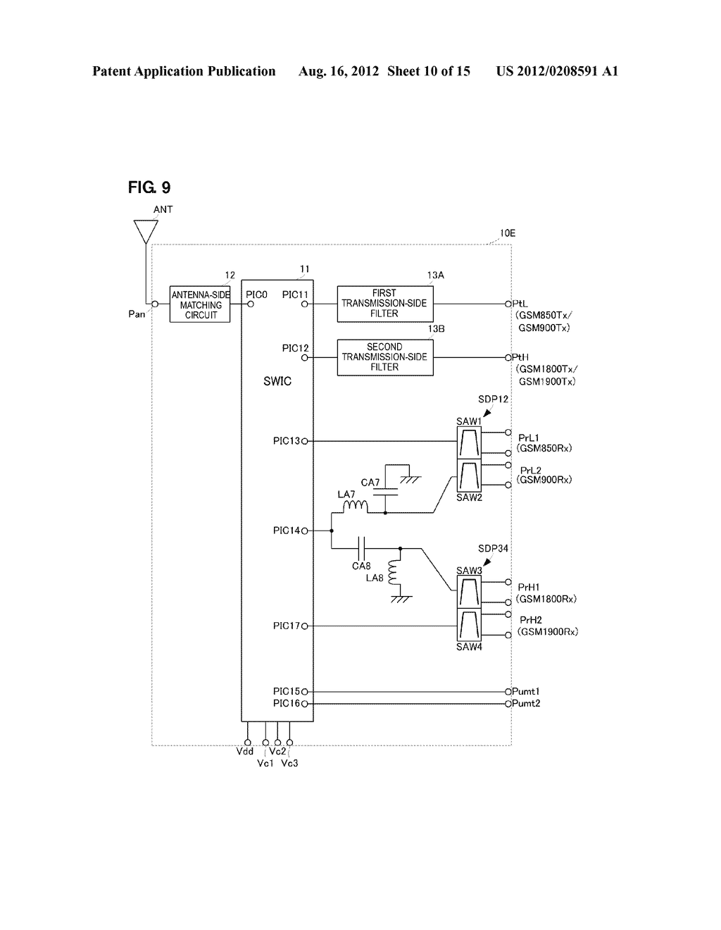 HIGH-FREQUENCY MODULE - diagram, schematic, and image 11