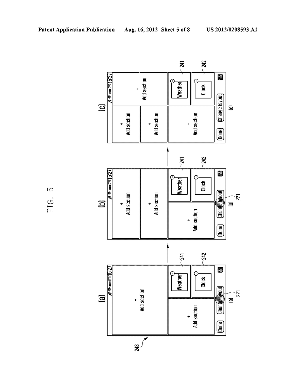 METHOD FOR CONTROLLING SCREEN OF MOBILE TERMINAL - diagram, schematic, and image 06