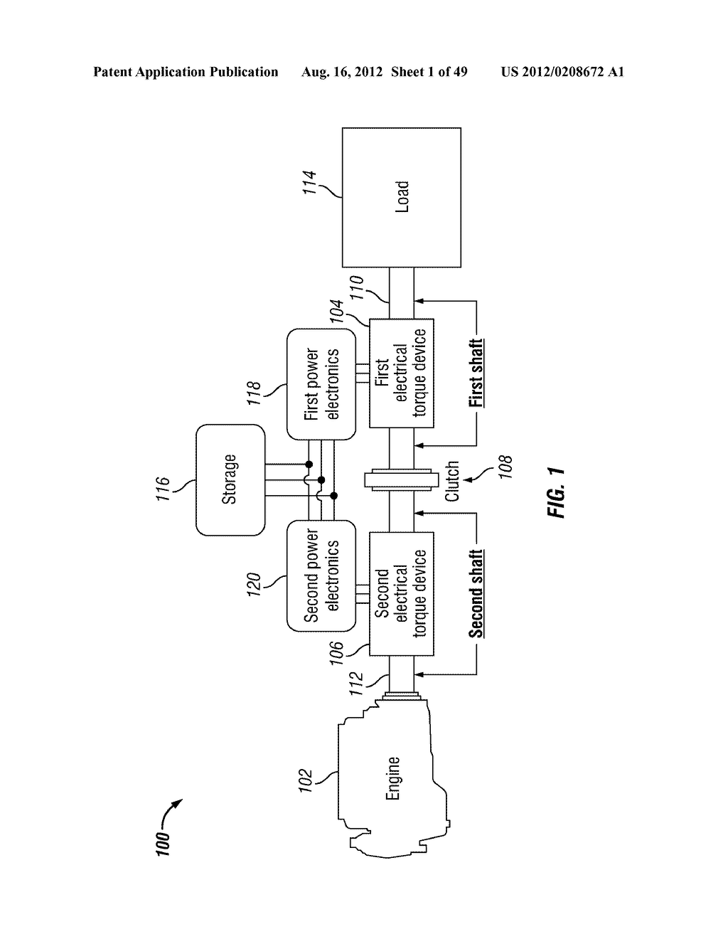 SYSTEM, METHOD, AND APPARATUS FOR CONTROLLING POWER OUTPUT DISTRIBUTION IN     A HYBRID POWER TRAIN - diagram, schematic, and image 02