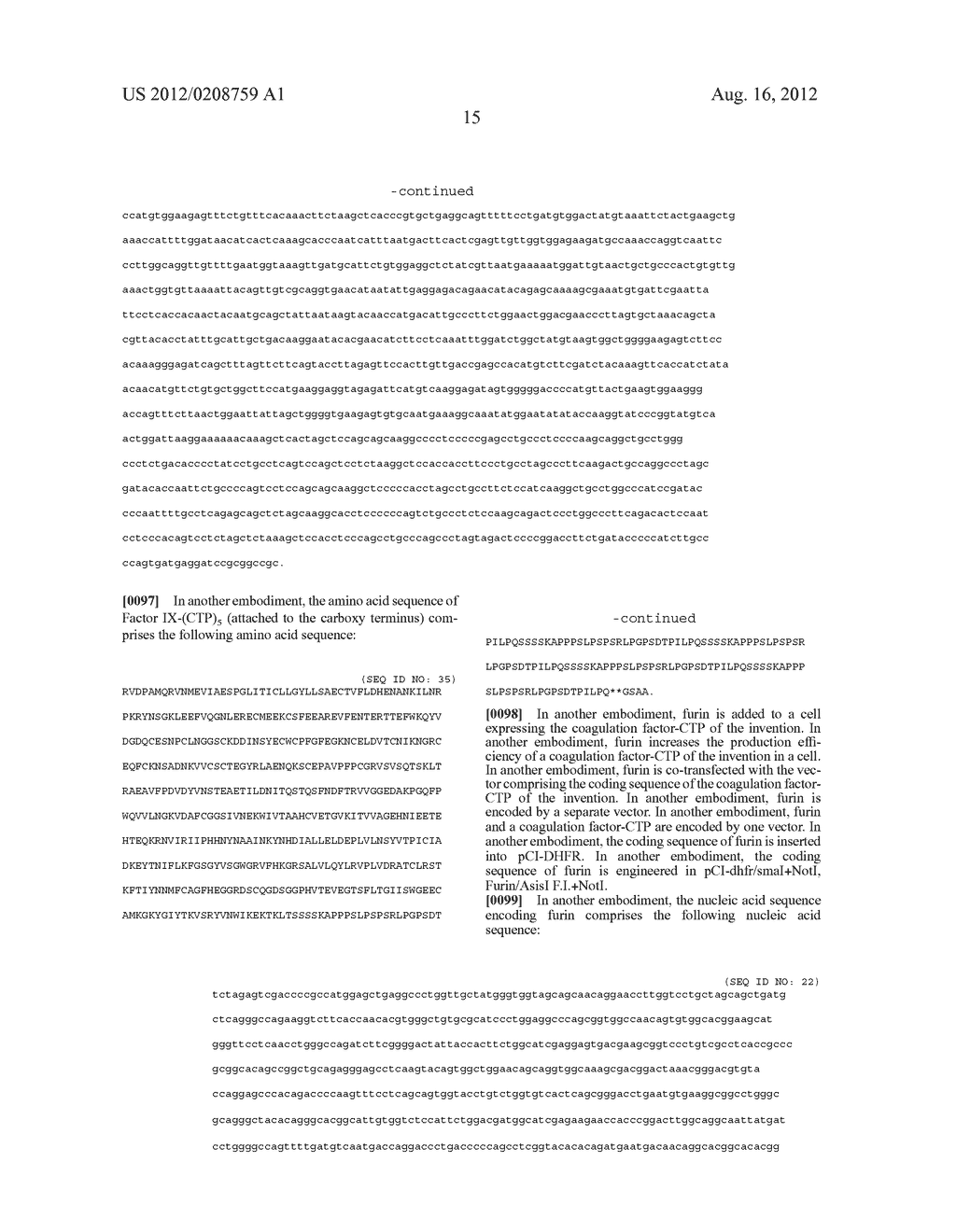 LONG-ACTING COAGULATION FACTORS AND METHODS OF PRODUCING SAME - diagram, schematic, and image 39