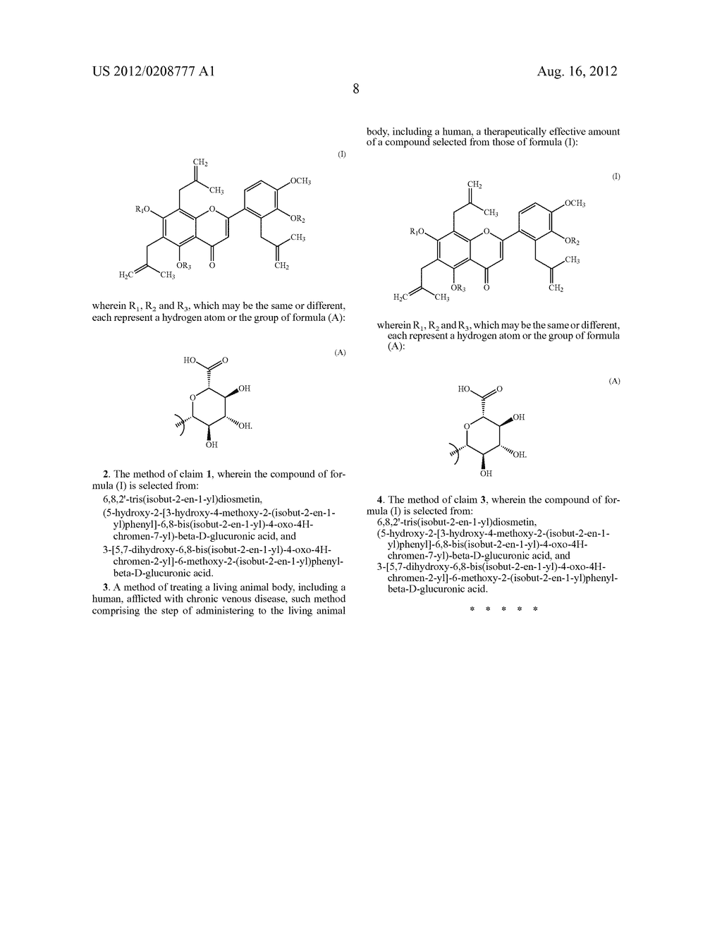 DIOSMETIN COMPOUNDS, A PROCESS FOR THEIR PREPARATION AND PHARMACEUTICAL     COMPOSITIONS CONTAINING THEM - diagram, schematic, and image 09