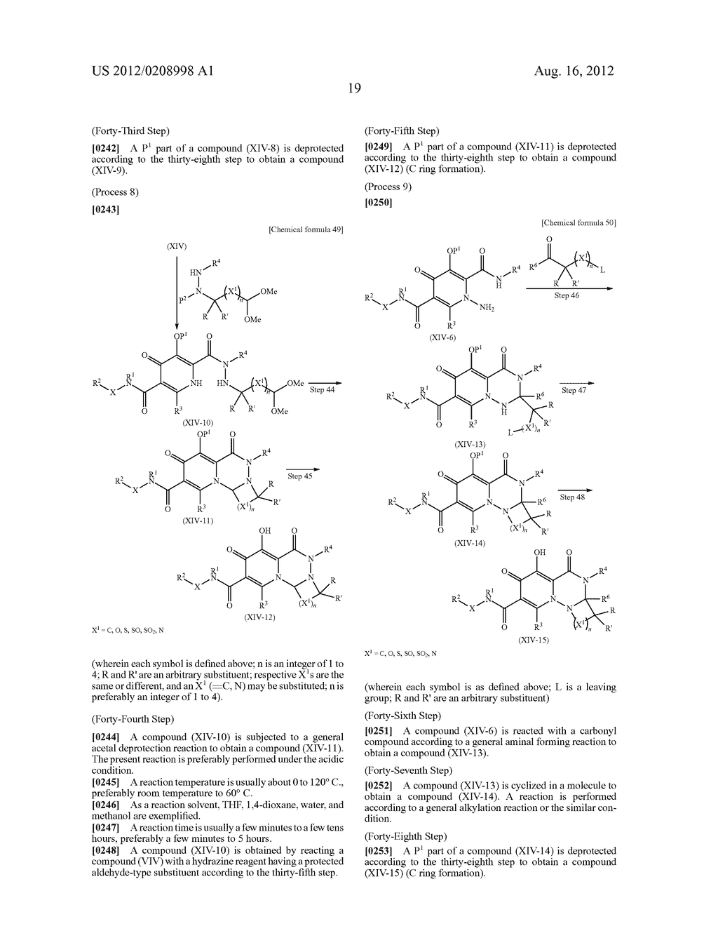 POLYCYCLIC CARBAMOYLPYRIDONE DERIVATIVE HAVING HIV INTEGRASE INHIBITORY     ACTIVITY - diagram, schematic, and image 20
