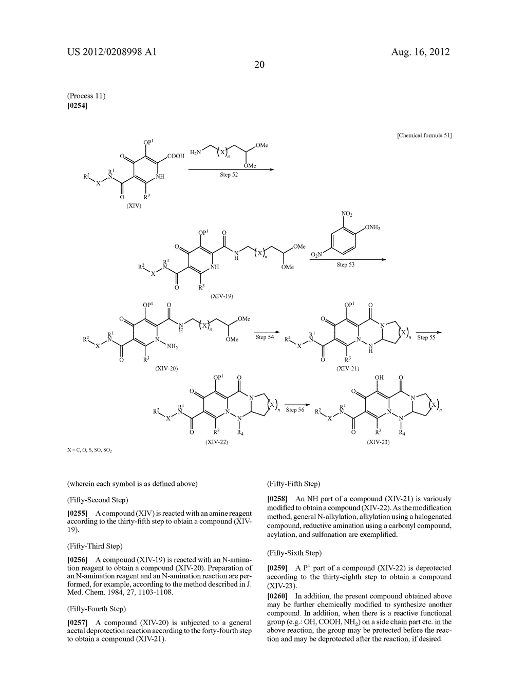 POLYCYCLIC CARBAMOYLPYRIDONE DERIVATIVE HAVING HIV INTEGRASE INHIBITORY     ACTIVITY - diagram, schematic, and image 21