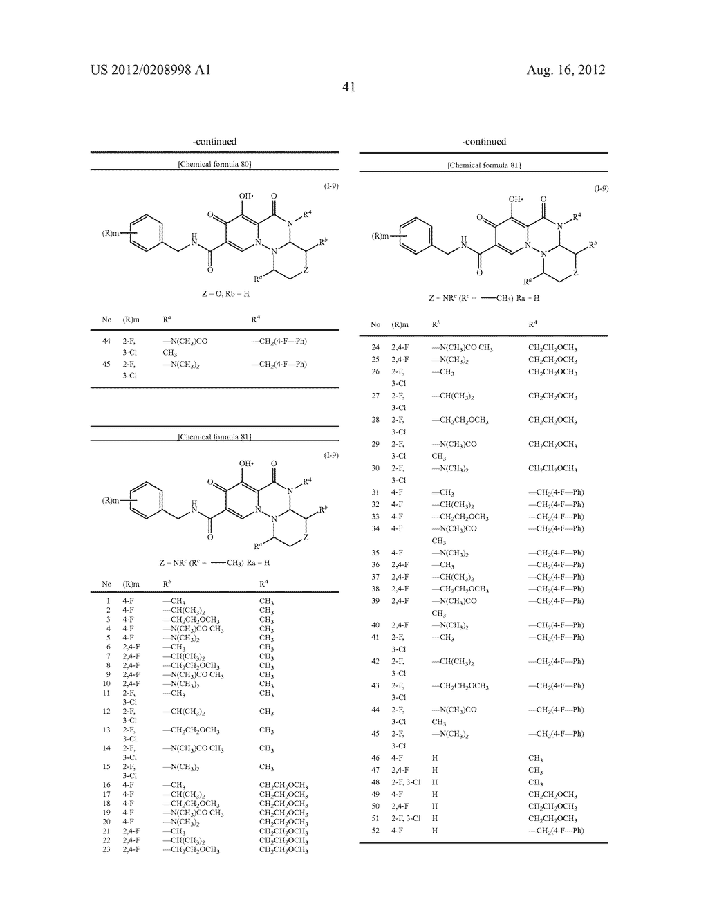 POLYCYCLIC CARBAMOYLPYRIDONE DERIVATIVE HAVING HIV INTEGRASE INHIBITORY     ACTIVITY - diagram, schematic, and image 42