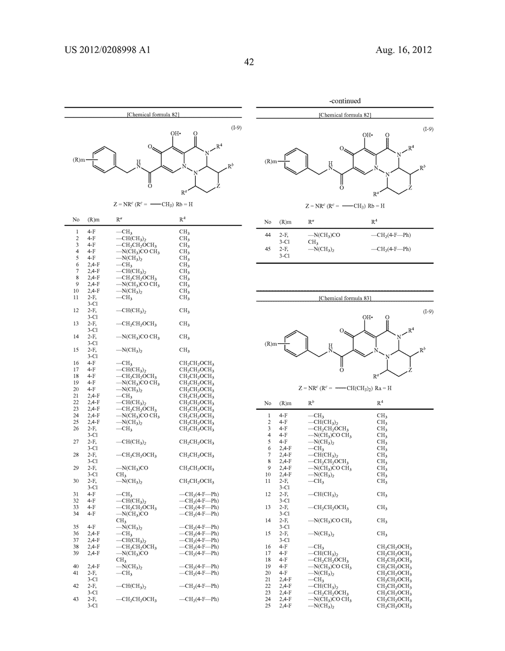 POLYCYCLIC CARBAMOYLPYRIDONE DERIVATIVE HAVING HIV INTEGRASE INHIBITORY     ACTIVITY - diagram, schematic, and image 43