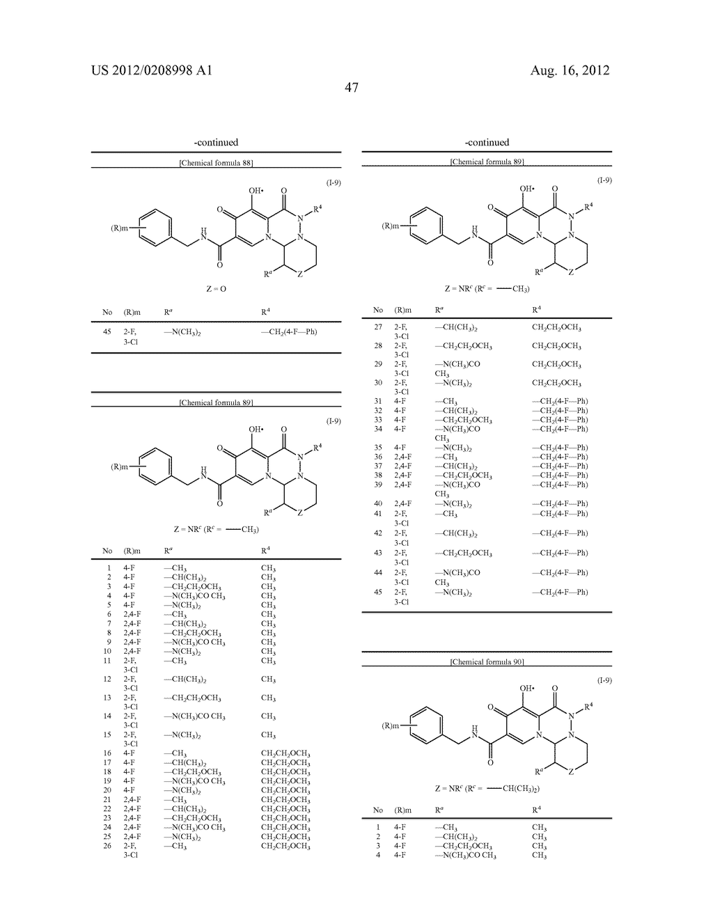 POLYCYCLIC CARBAMOYLPYRIDONE DERIVATIVE HAVING HIV INTEGRASE INHIBITORY     ACTIVITY - diagram, schematic, and image 48