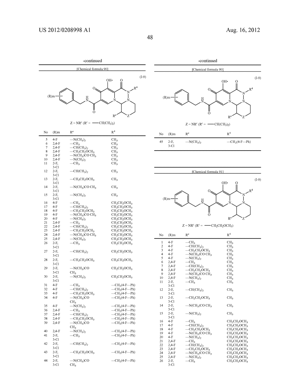 POLYCYCLIC CARBAMOYLPYRIDONE DERIVATIVE HAVING HIV INTEGRASE INHIBITORY     ACTIVITY - diagram, schematic, and image 49