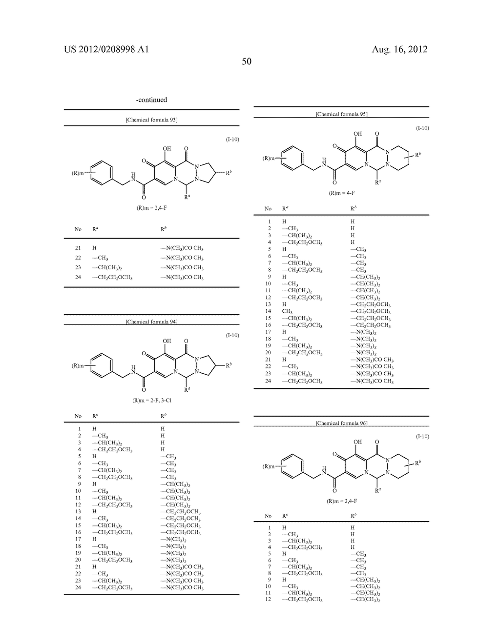 POLYCYCLIC CARBAMOYLPYRIDONE DERIVATIVE HAVING HIV INTEGRASE INHIBITORY     ACTIVITY - diagram, schematic, and image 51