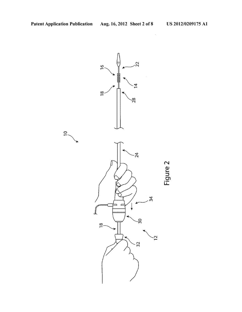 DRIVE ASSEMBLY FOR FACILITATING DEPLOYMENT OF AN IMPLANTABLE MEDICAL     DEVICE - diagram, schematic, and image 03