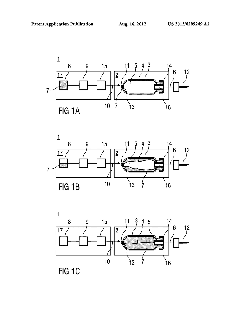 Injection Arrangement for a Flowable Drug - diagram, schematic, and image 02