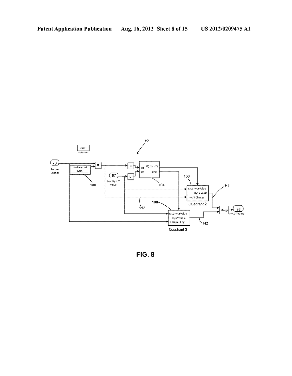 Electric Power Steering Control Methods And Systems Using Hysteresis     Compensation - diagram, schematic, and image 09