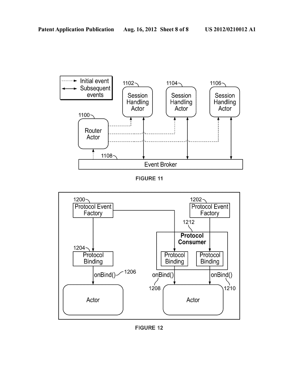 APPLICATION SERVER PLATFORM FOR TELECOM-BASED APPLICATIONS HAVING A TCAP     ADAPTER, SIP ADAPTER AND ACTOR PROTOCOL CONTEXT - diagram, schematic, and image 09