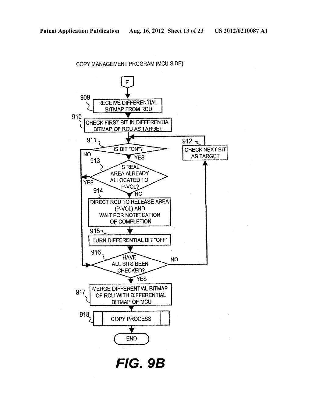 METHOD OF IMPROVING EFFICIENCY OF CAPACITY OF VOLUME USED FOR COPY     FUNCTION AND APPARATUS THEREOF - diagram, schematic, and image 14