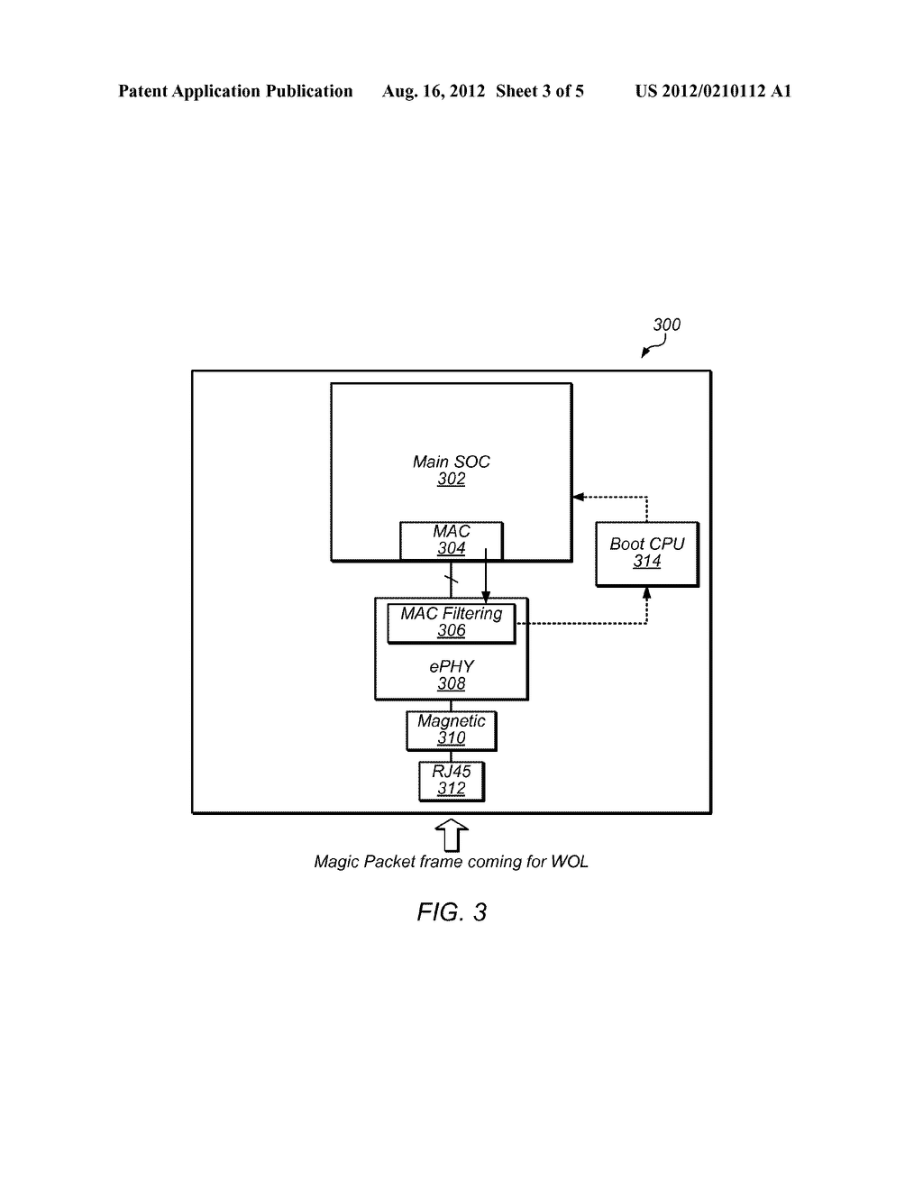 Mac Filtering On Ethernet Phy For Wake Lan Diagram Schematic And Image 04