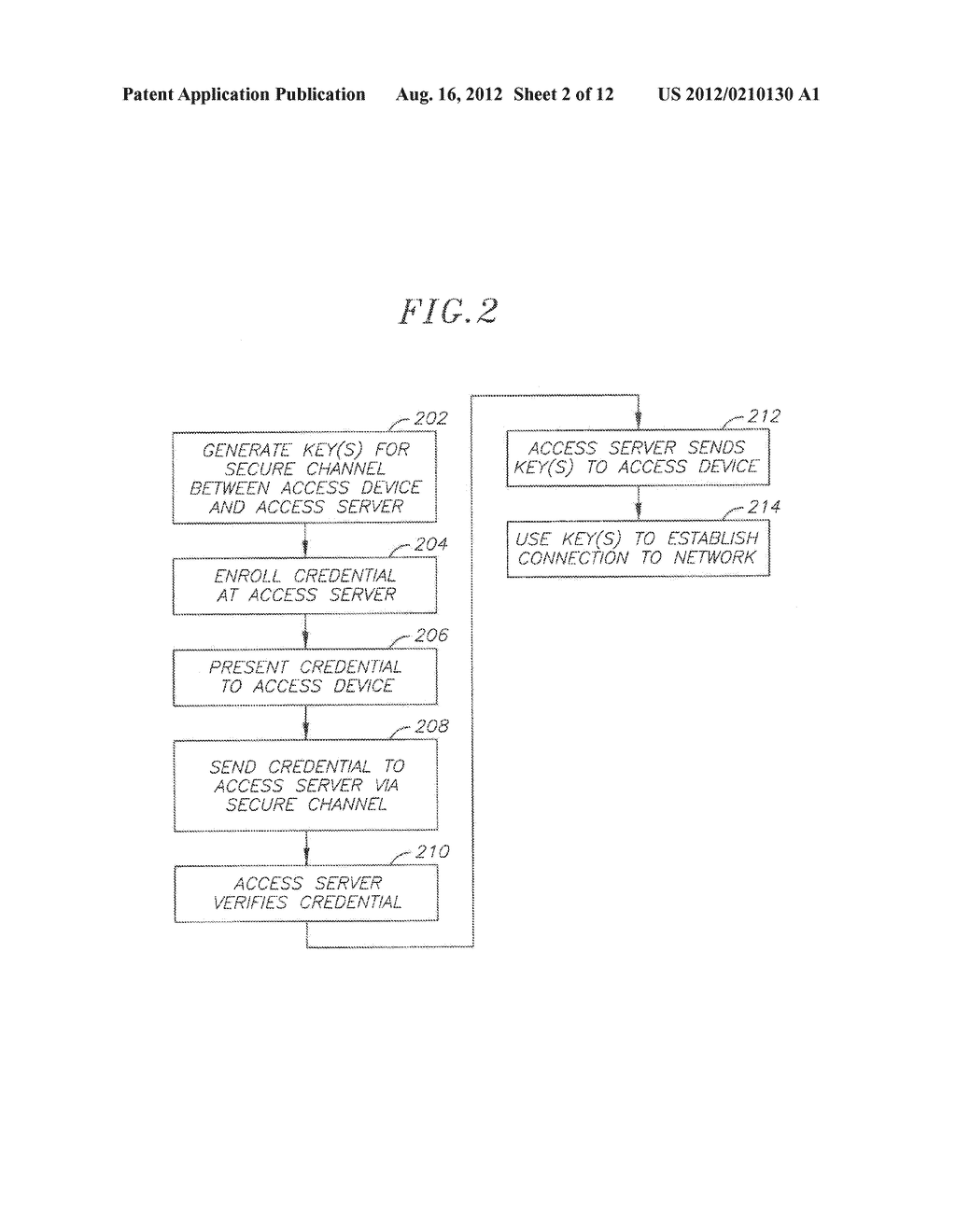 User Authentication System - diagram, schematic, and image 03